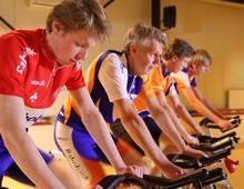 TeamSir5 fietst Alpe d'HuZes