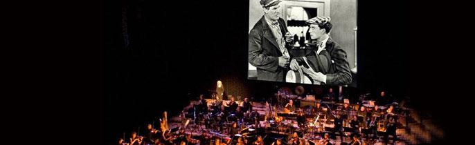 Filmklassiekers en livemuziek