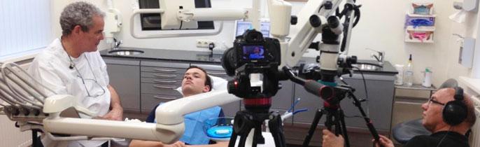 Visagie in de tandartsstoel…